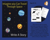 Imagine You Can Travel Through Space: Write A Story (9-13 years)