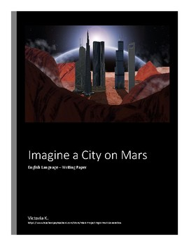 Imagine a city on Mars