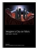 Imagine a city on Mars