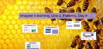 Imagine it learning, Patterns Unit 2, Lesson 9