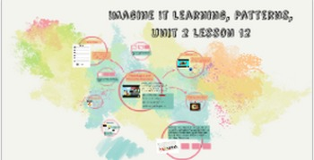 Imagine it learning, Unit 2 Patterns, Day 12