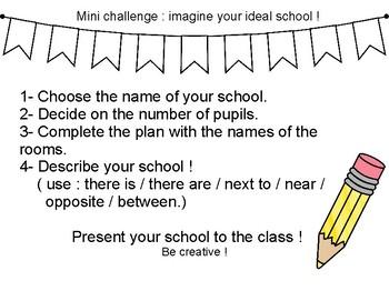 Imagine your ideal school !