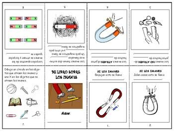 IMANES - MAGNETS - Librito plegable