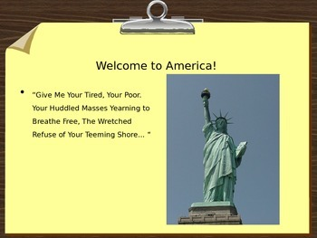 Imimagration PowerPoint