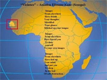 African Poetry: Common Core Grammar/Personification/Read & Write Poetry