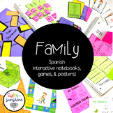 Immediate and Extended Family in Spanish: Games, interacti