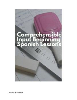 Immersive Beginning Spanish Lessons