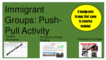 Immigrant Groups Bundle
