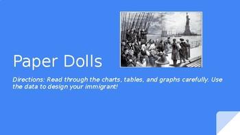 Immigrant Paper Dolls