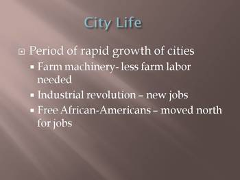 Immigrant and Cities