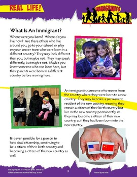 Immigrants - What is an immigrant?