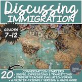 Immigration- High School Conversation Starters