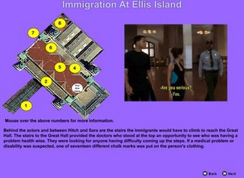 Immigration At Ellis Island - Bill Burton