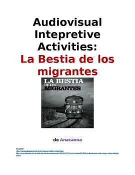 Immigration Audiovisual Interpretive Activities: La Bestia de los migrantes