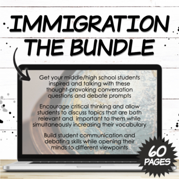 Immigration Bundle: Middle/High School