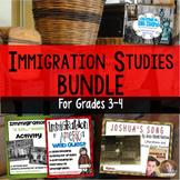 Immigration Bundle: WebQuest, Book Studies, and Poetry Activity for Grades 3-4
