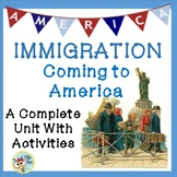 Immigration Coming to America: Includes immigrants from Germany, Ireland, China