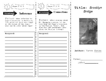 Immigration Cross Curricular Story and Tri Fold