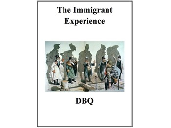 Immigration DBQ Primary Source Analysis