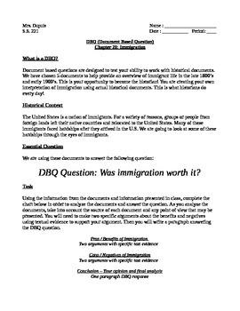 Simple Dbq Teaching Resources