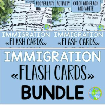 Immigration Flash Cards BUNDLE