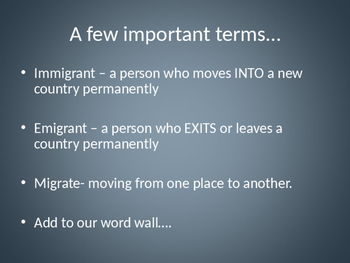 Immigration: HSI : Powerpoint