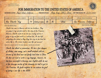 Immigration & Industrial Revolution - Create Your Own History for Common Core