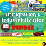 Immigration & Industrial Revolution BUNDLE  (U.S. History) PRINT AND DIGITAL