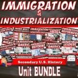 Immigration & Industrial Revolution BUNDLE | Print & Digital | DISTANCE LEARNING