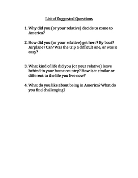 Immigration Interview Assignment