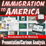 IMMIGRATION to America (Gilded Age) Lecture Presentation, Print and Digital