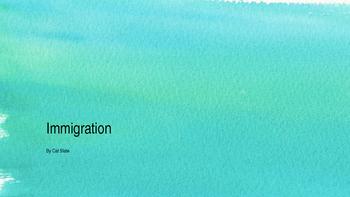 Immigration Multimodal Lesson