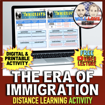 Immigration: New Immigrants in America Activity