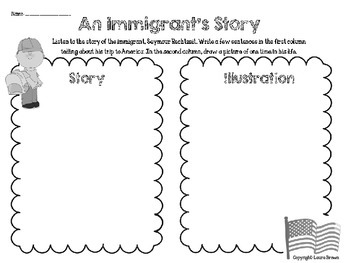 Immigration Packet for Elementary Students
