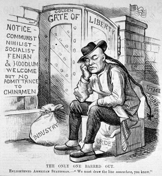 Immigration Political Cartoons