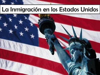 Immigration Power Point in Spanish with 15+ Video Links