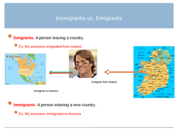 Immigration PowerPoint
