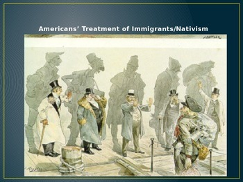 Immigration PowerPoint and Guided Notes