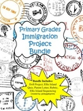 Immigration Project Bundle: Doll project, Ellis Island activities