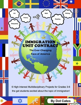 Immigration Project Contract: 6 Exciting Multidisciplinary Projects (Gr. 3-6)