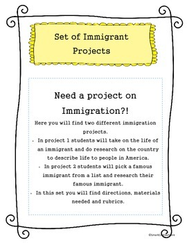 Immigration Projects