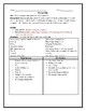 Immigration Push and Pull Factor Worksheet with Word bank and Answer Key