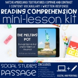 Immigration Reading Comprehension Mini Lesson Digital