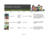 Immigration Reading Log
