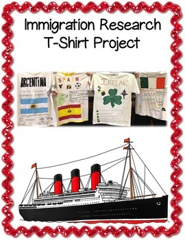 Immigration Research T-Shirt Project