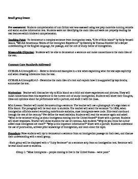 Immigration SS UNIT: Deconstructing sentences ( ELA)