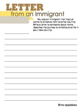 Immigration Scrapbook Project
