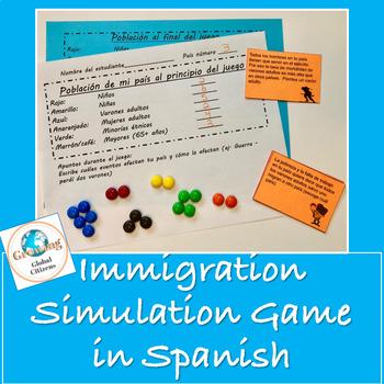 Immigration Simulation Game in Spanish / Juego de inmigración