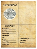 Immigration Simulation Passport