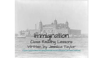 Immigration Stories CLOSE READING UNIT